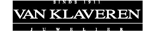 Logo Van Klaveren Melkmarkt in het wit